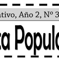 Boletín Informativo de la Biblioteca Popular el Che. Año 2,  Nº3