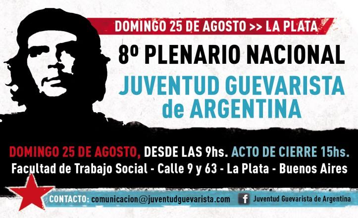 8º Plenario Nacional de la Juventud Guevarista de Argentina