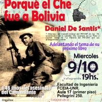 Porqué el Che fue a Bolivia. Charla con Daniel De Santis