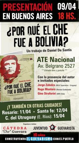 ¿Por qué el Che fue a Bolivia?