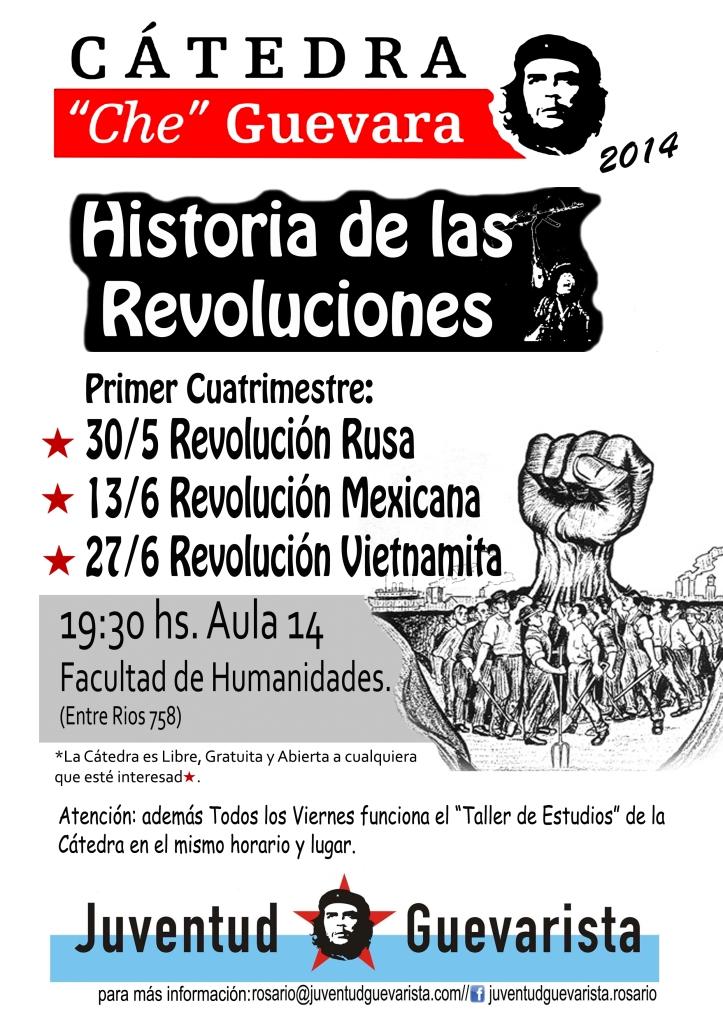 Catedra Che Guevara 2014