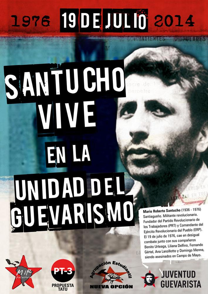 Afiche Santucho VIVE 19-7-14