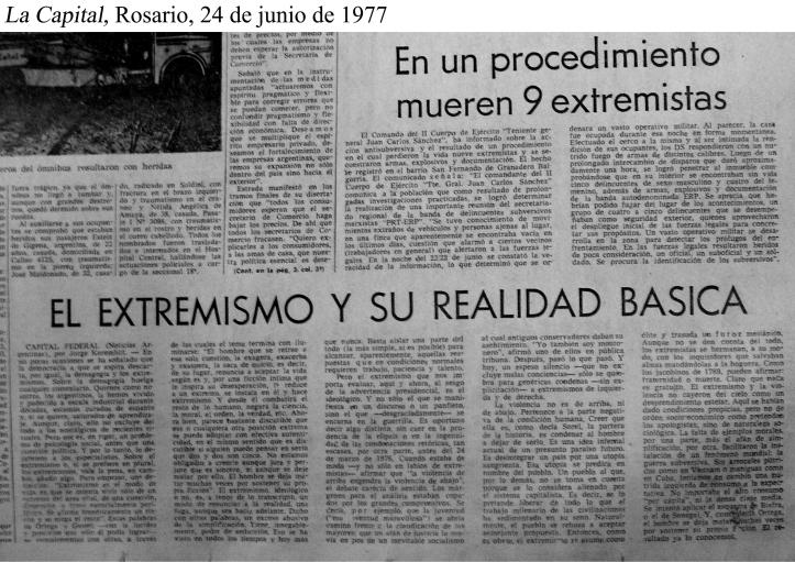 La Capital 24 de junio 1977