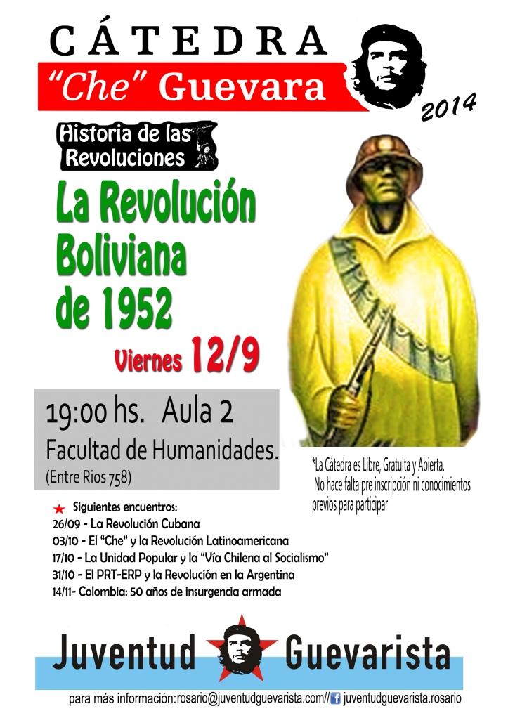 Catedra Che Guevara Rev Boliviana 1952