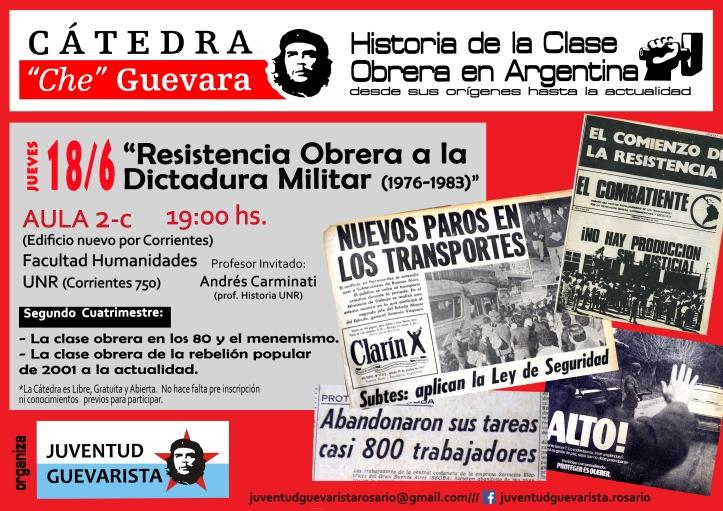 Catedra2015 Resistencia Obrera