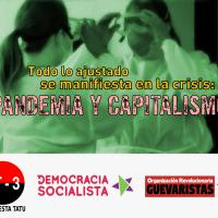Todo lo ajustado se manifiesta en la crisis: pandemia y capitalismo